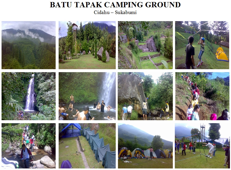 PHONE: 0812-9033-0797, Tempat/Lokasi Camping MURAH, Batu Tapak Camping Ground, Cidahu - Sukabumi. Tersedia dalam Paket Outbound, Outing, Gathering.