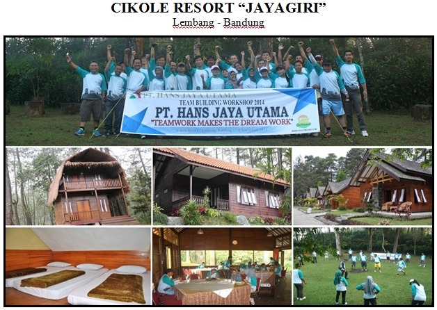 Cikole Resort, Lembang Bandung
