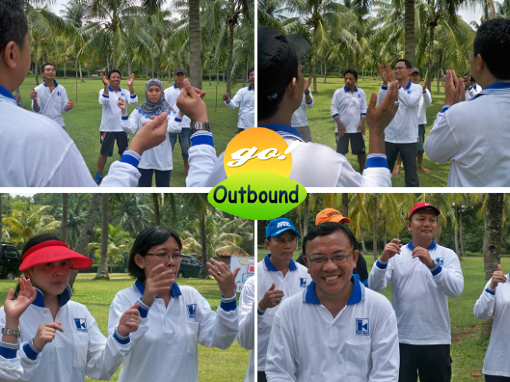 outbound games, permainan outbound, contoh permainan outbound, clip and clap