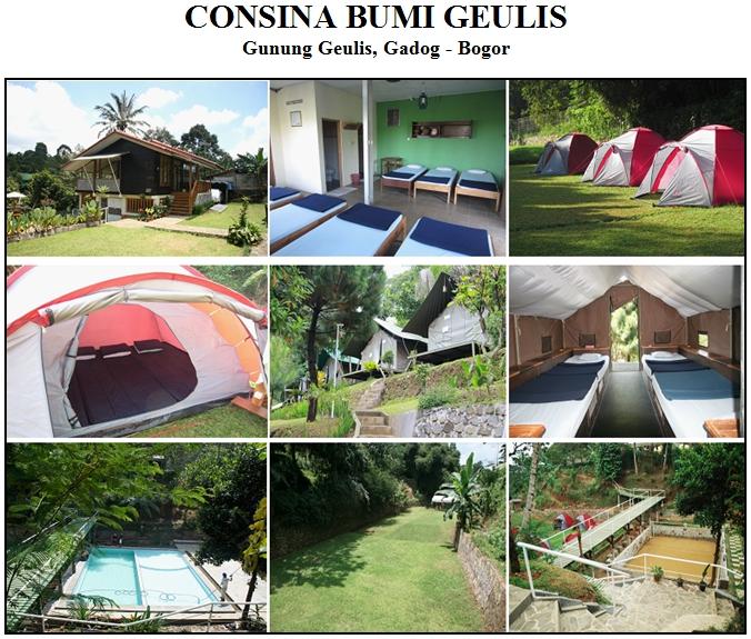 Consina Bumi Geulis, Gunung Geulis, Gadog - Bogor