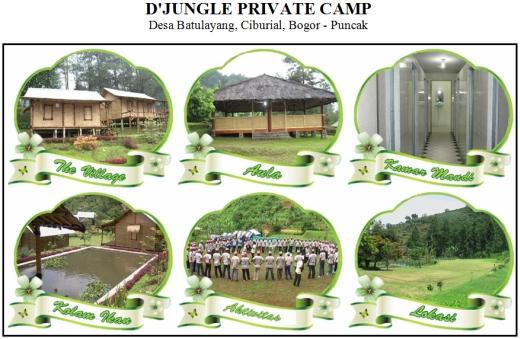 D'JUNGLE PRIVATE CAMP, Desa Batulayang, Ciburial, Bogor - Puncak