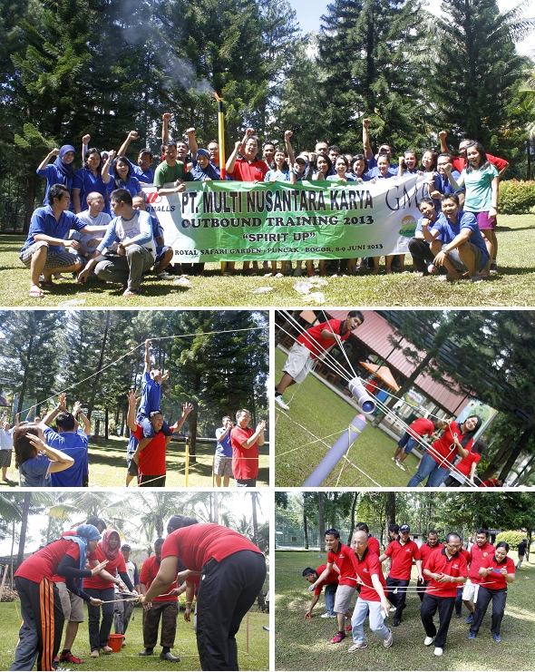 Dokumentasi GO Outbound Bersama LIPPO MALL GROUP dan GAJAH MADA PLAZA (PT. Multi Nusantara Karya)