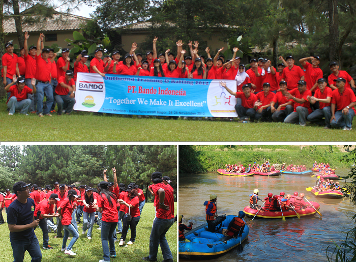 Dokumentasi GO Outbound Bersama PT. BANDO INDONESIA