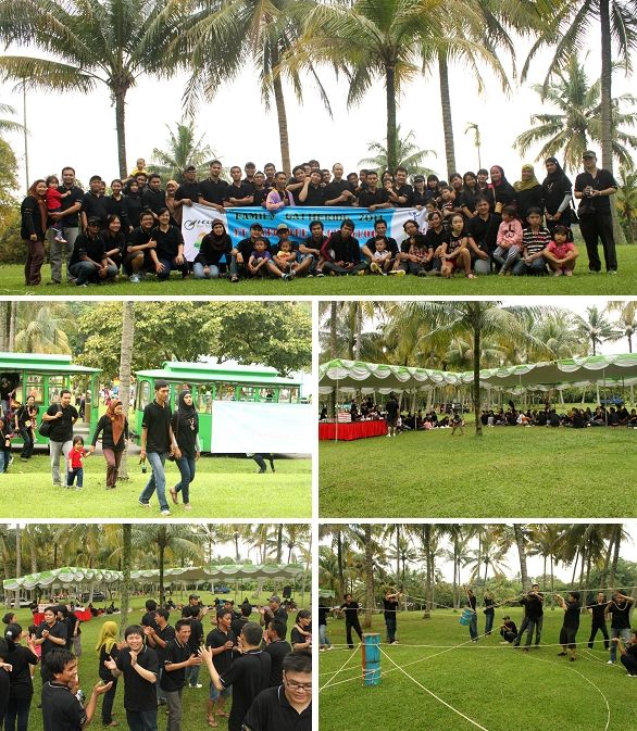 Dokumentasi GO Outbound Bersama PT. INDOCODE TECHNOLOGY
