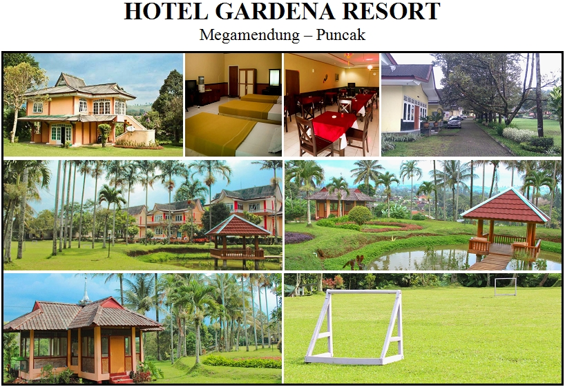 HOTEL GARDENA RESORT, Megamendung - Puncak
