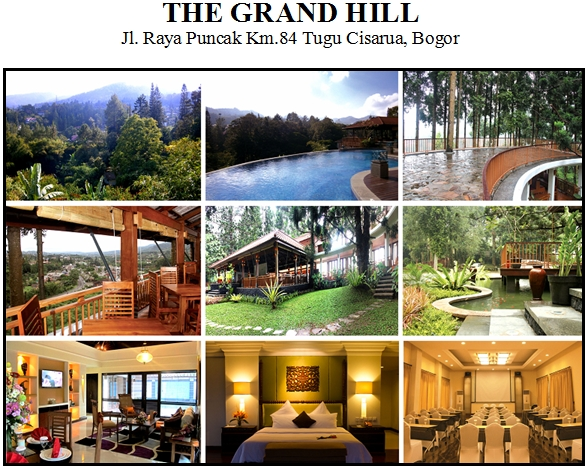 Hotel The Grand Hill Cisarua Puncak Bistro Cafe Resort