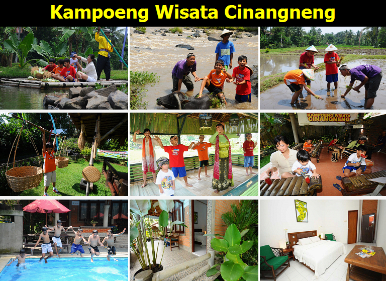 Paket Outbound Di Kampoeng Wisata Cinangneng Go Outbound