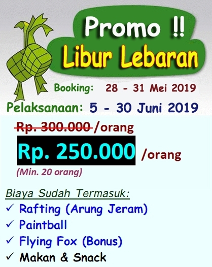 Promo Outbound Libur Lebaran