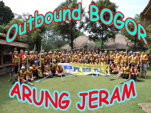 Outbound di Bogor, Arung Jeram