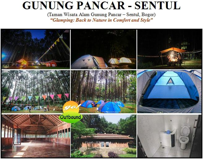 Outbound, Camping di GUNUNG PANCAR - Sentul
