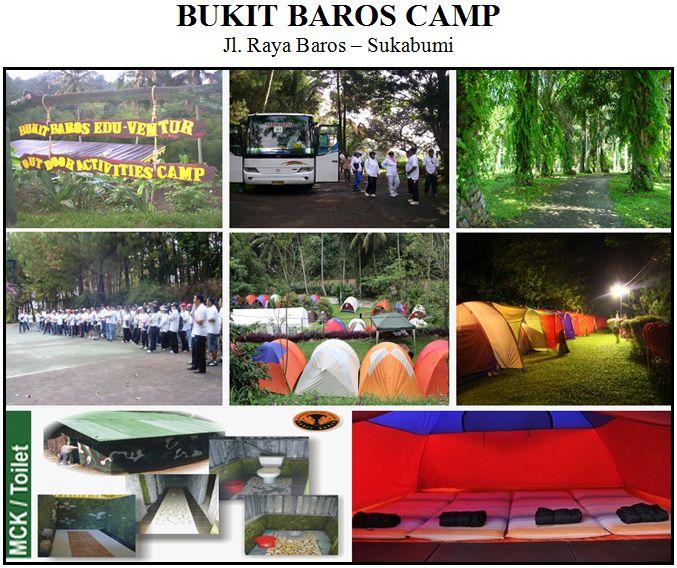 Outbound di Bukit Baros Camping Ground Sukabumi