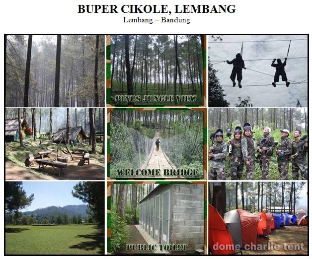 Outbound di Bumi Perkemahan Buper Cikole Lembang Bandung