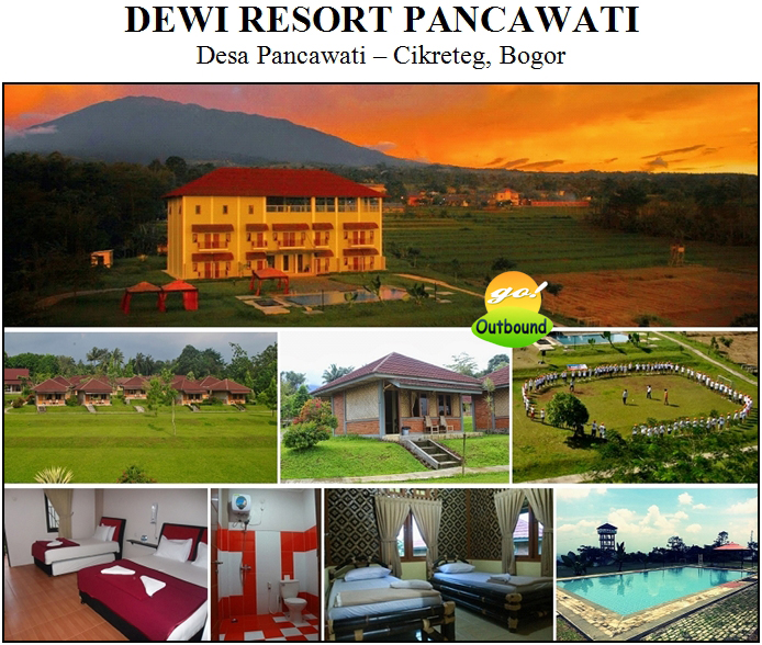 Outbound di Dewi Resort Pancawati - Bogor