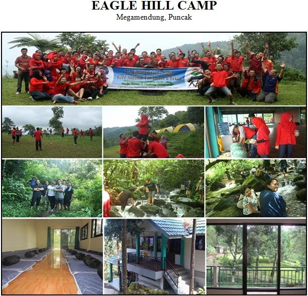 EAGLE HILL CAMP, Megamendung - Puncak. Lokasi Camping Outbound Puncak Terbaik.
