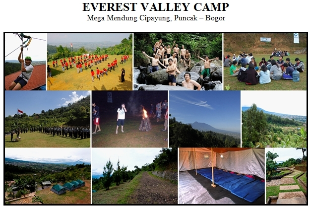 Outbound di Everest Valley Camping Ground Puncak
