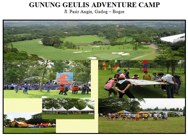 Outbound di Gunung Geulis Adventure Camping Ground Puncak