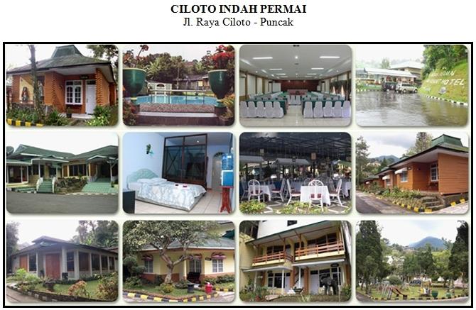 Outbound di Hotel Ciloto Indah Permai Puncak