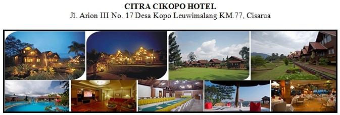 Outbound di Hotel Citra Cikopo Puncak