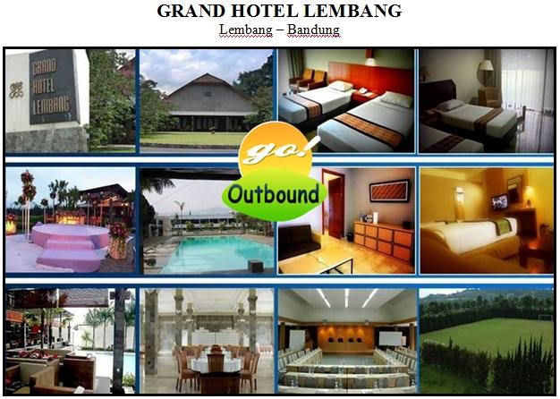 Outbound di Grand Hotel Lembang Bandung