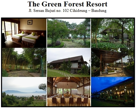 Outbound di Hotel Green Forest Resort Bandung