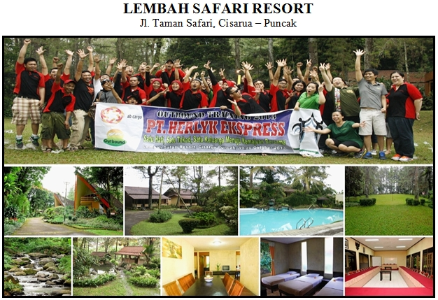 Outbound di Hotel Lembah Safari Resort Puncak