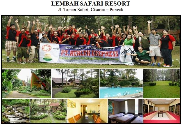 Outbound di Hotel Lembah Safari Resort Puncak