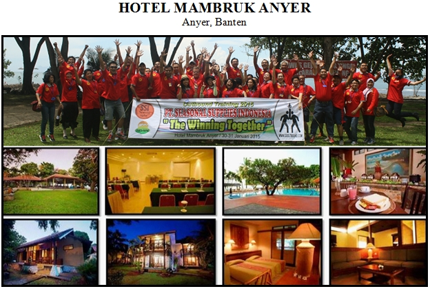 Outbound di Hotel Mambruk Anyer Pantai