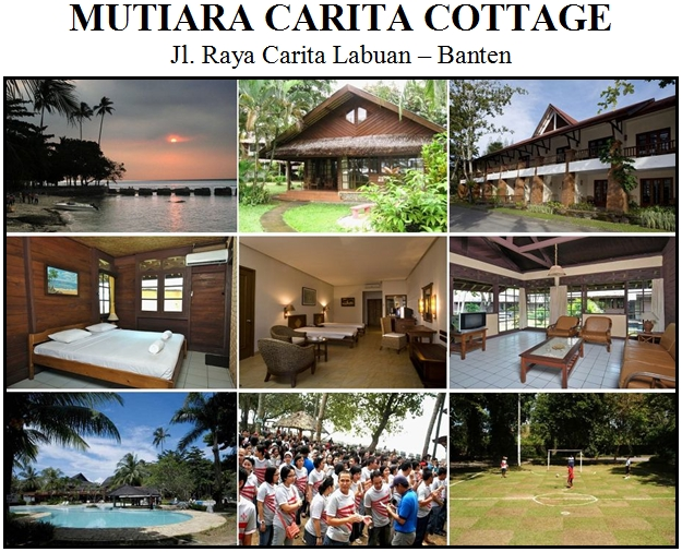 Outbound di Hotel Mutiara Carita Cottage Pantai