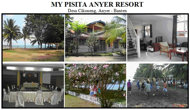 Outbound di Hotel My Pisita Anyer Resort Pantai