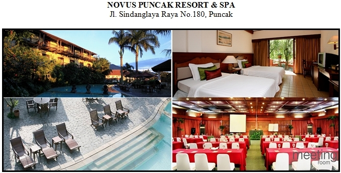 Outbound di Hotel Novus Puncak Resort Spa