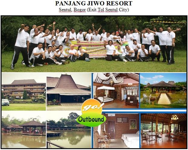 Outbound di Hotel Panjang Jiwo Resort Sentul Bogor