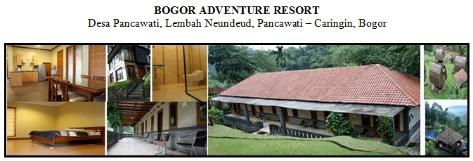 Outbound di Hotel Villa Bogor Adventure Resort Desa Pancawati