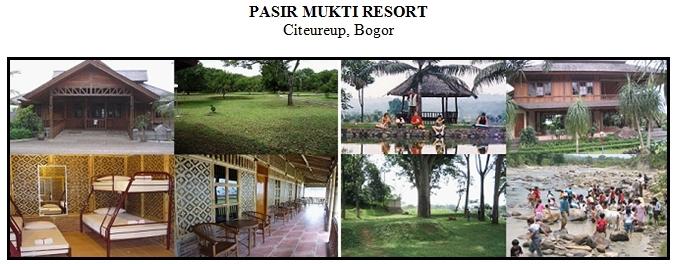 Outbound di Hotel Villa Pasir Mukti Resort Bogor
