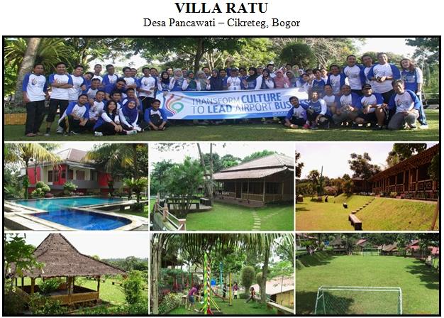 Outbound di Hotel Villa Ratu Desa Pancawati Bogor