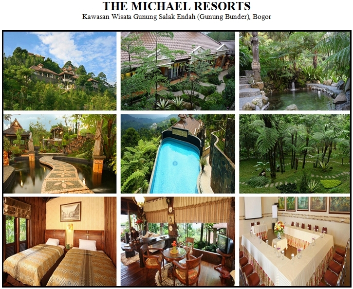 Outbound di Hotel Villa The Michael Resorts Gunung Bunder Bogor