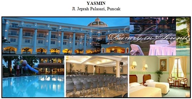 Outbound di Hotel Yasmin Puncak