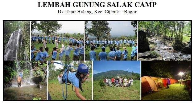 Outbound di Lembah Gunung Salak Camping Ground Bogor