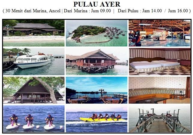 Outbound di Pulau Ayer Kepulauan Seribu Resort
