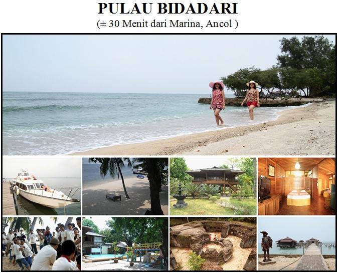 Outbound di Pulau Bidadari - Kepulauan Seribu