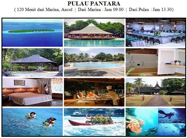 Outbound di Pulau Pantara Kepulauan Seribu Resort