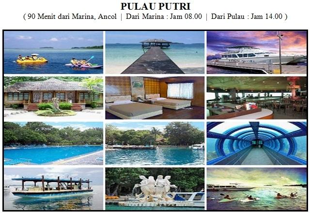 Outbound di Pulau Putri Kepulauan Seribu Resort
