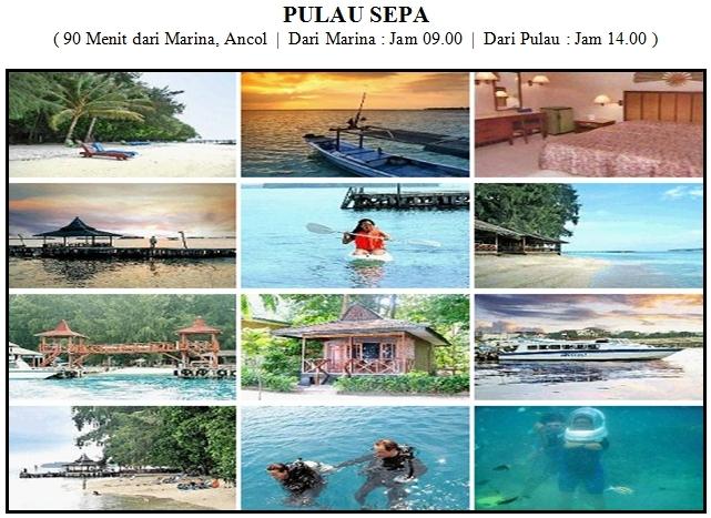 Outbound di Pulau Sepa Kepulauan Seribu Resort