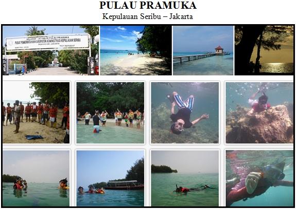 Outbound di Pulau Pramuka - Kepulauan Seribu