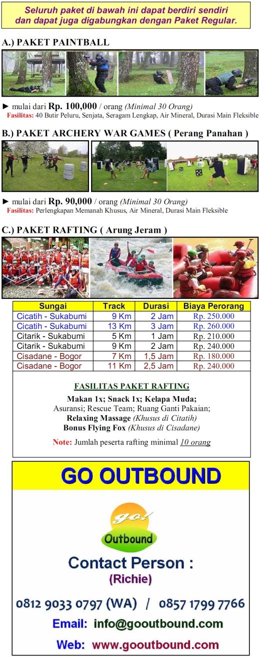 outbound-rafting-citarik-sukabumi-cicatih-cisadane-bogor-paintball-jakarta-archery