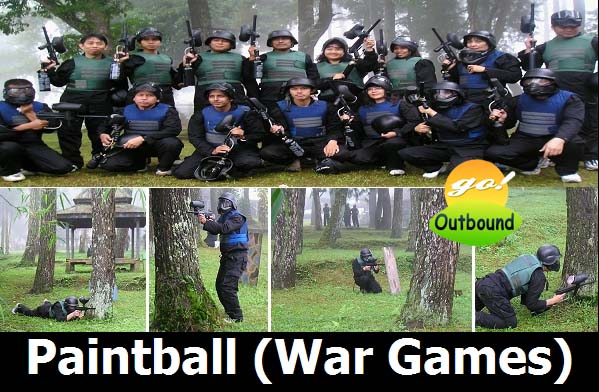 Lokasi Paket Paintball di Jakarta, Bogor, Puncak, Sukabumi, Bandung