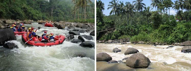 Paket Rafting MURAH di Sungai Citarik Sukabumi