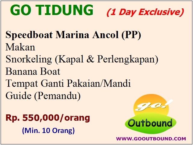 Paket Tour Wisata Pulau Tidung 1 Hari (One Day)