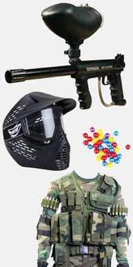 paintball, paintball equipment, peralatan paintball, senjata paintball, marker, tippmann 98