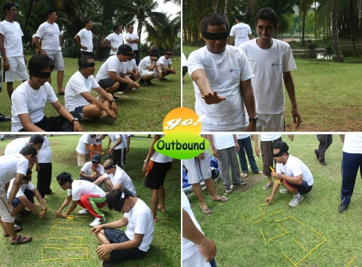 Contoh Permainan (Games) Outbound: BLIND LEAD