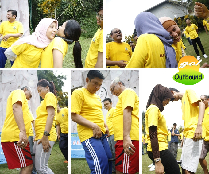 Contoh Permainan (Games) Outbound: STICK TRANSFER